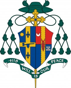 Bishop J Coat of Arms