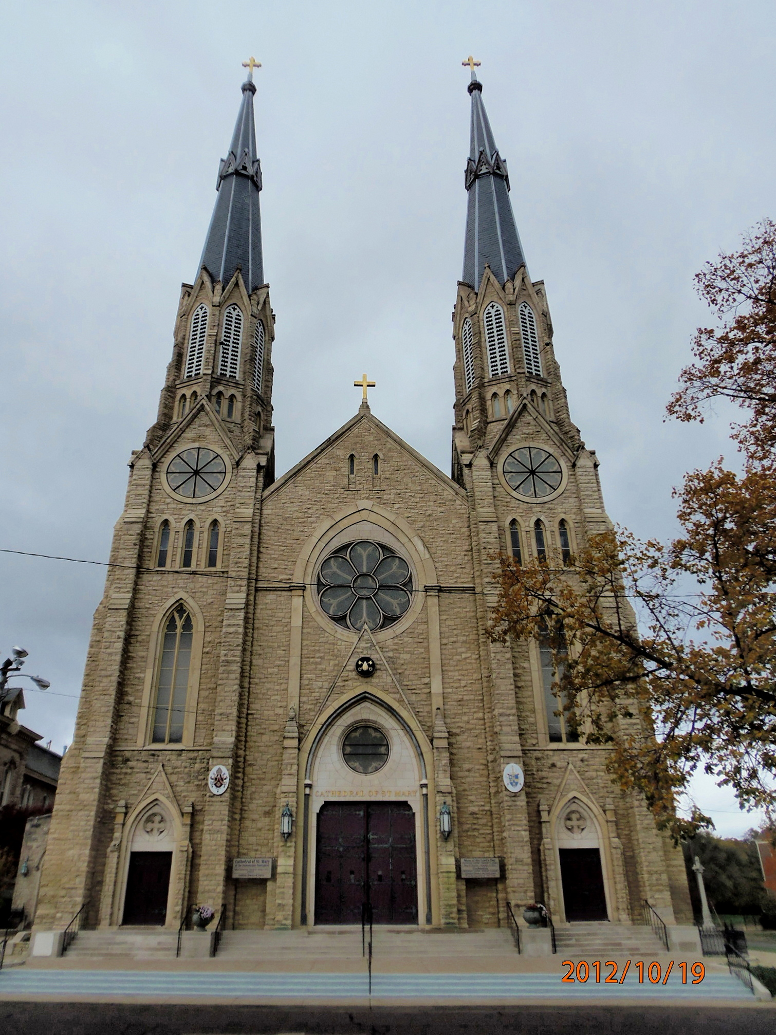 Catholic Diocese Of Peoria Cathedral Of St  Mary Of The