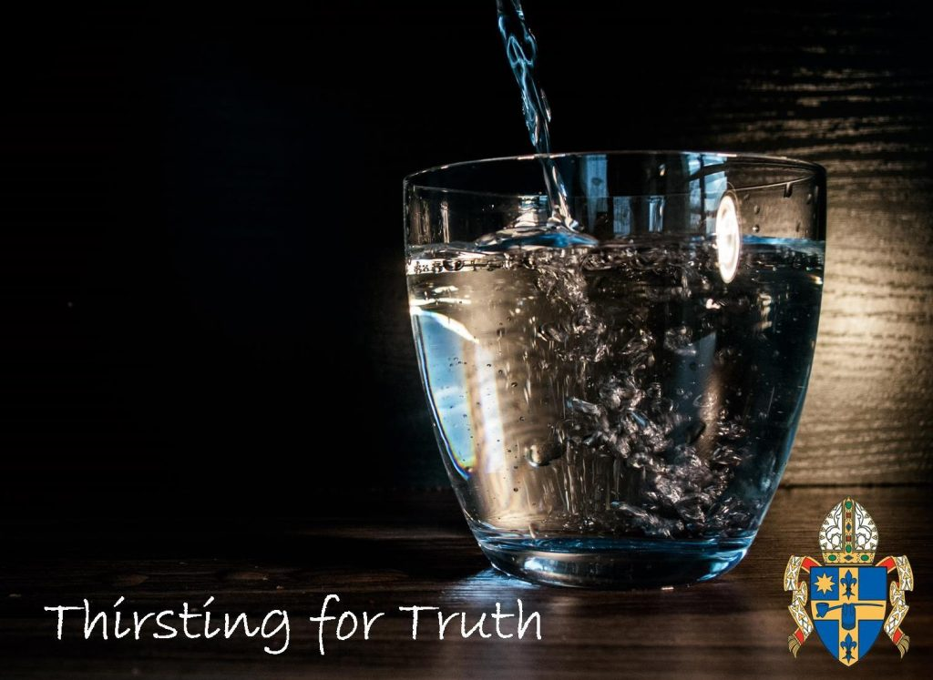 Thirsting for Truth Logo